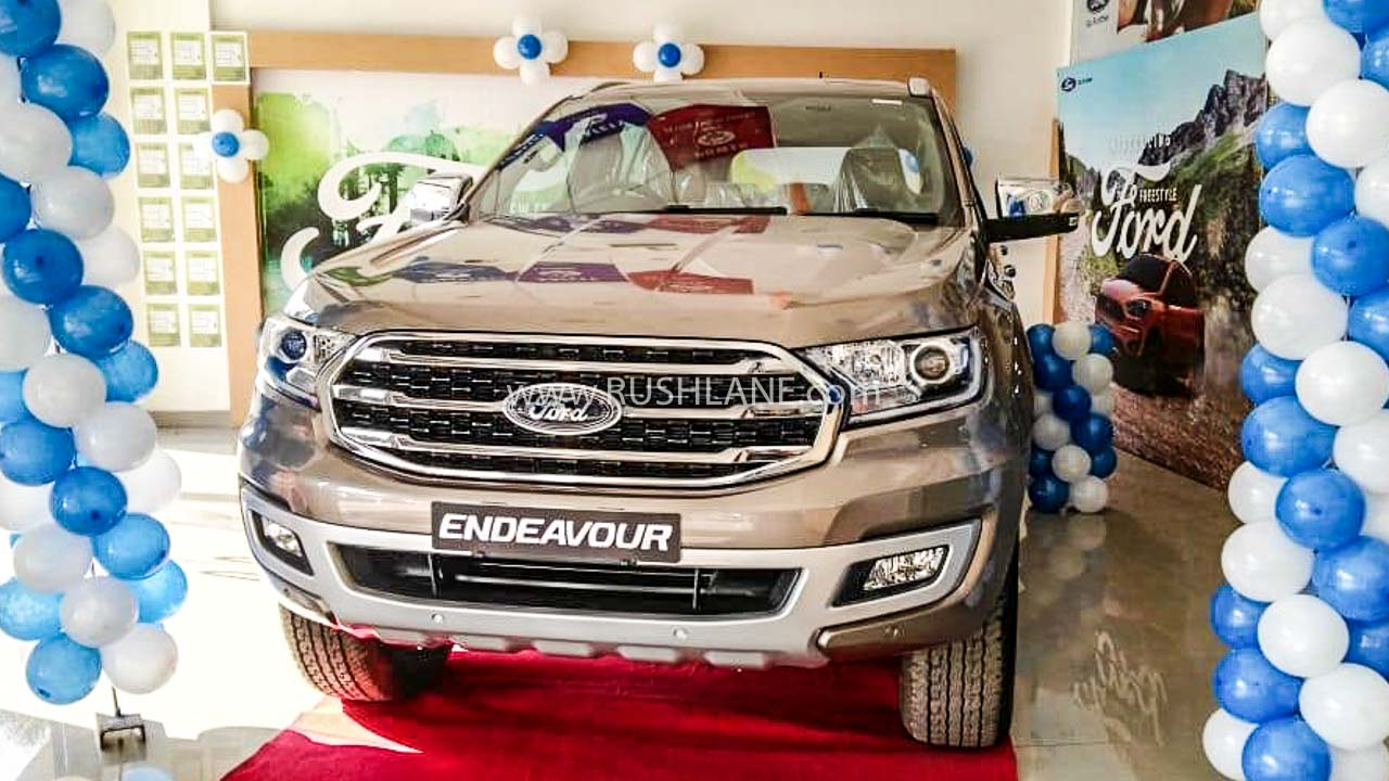 2020 Ford Endeavour BS6 launch price