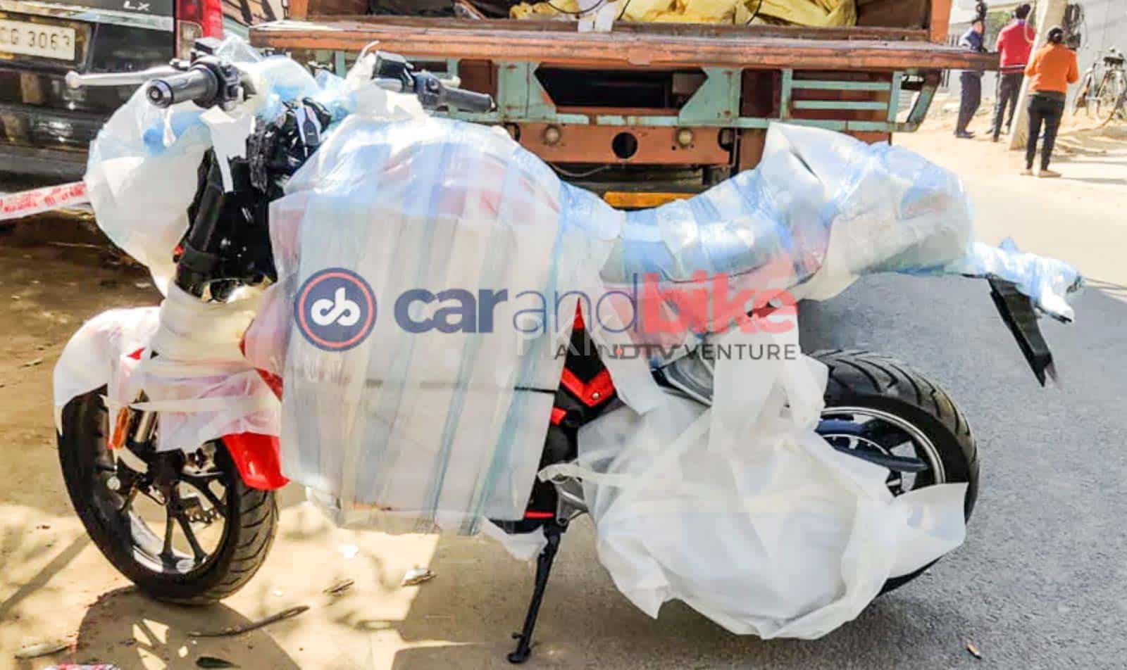 Hero Electric motorcycle spied - Launch at Auto Expo 2020