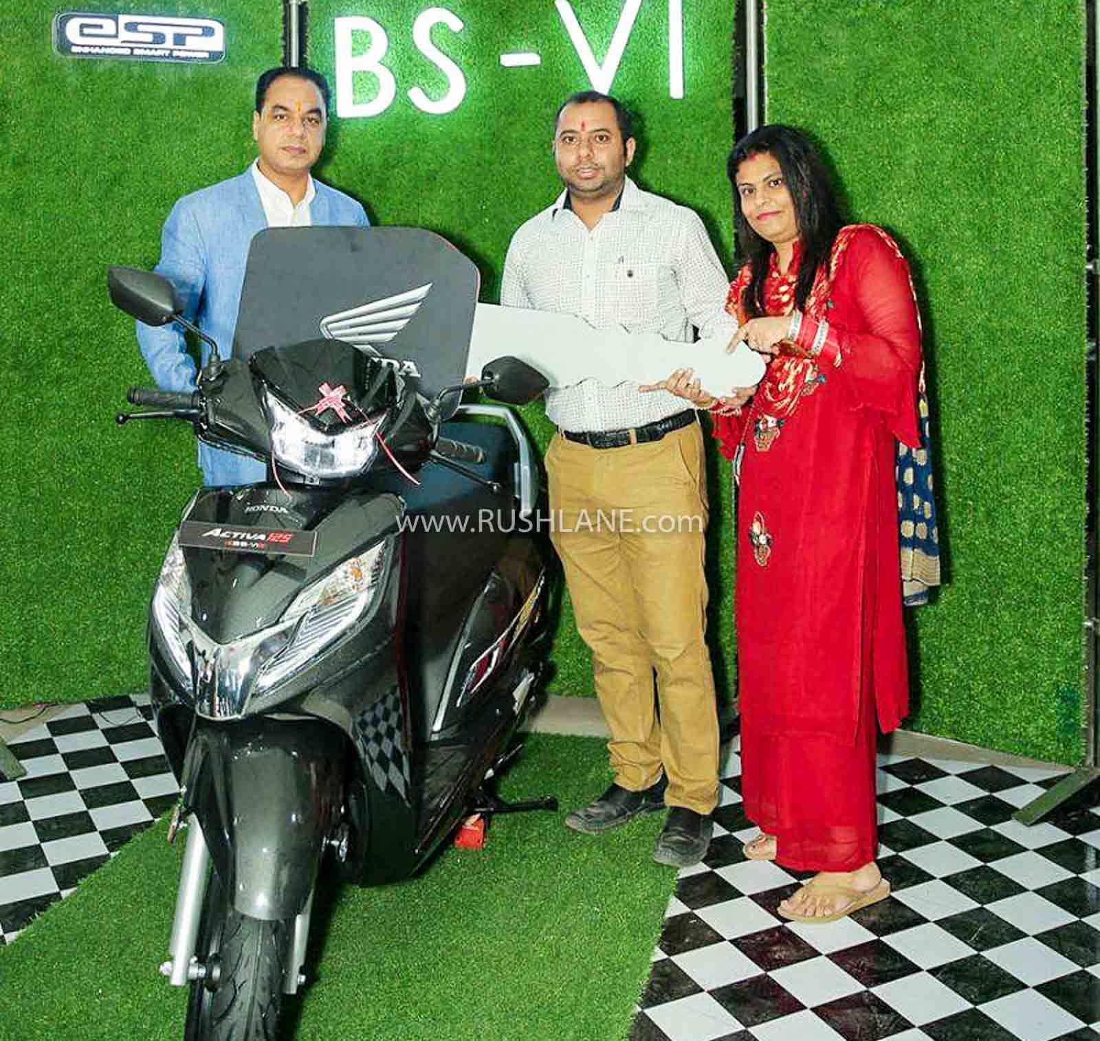 Honda Activa BS6 best selling