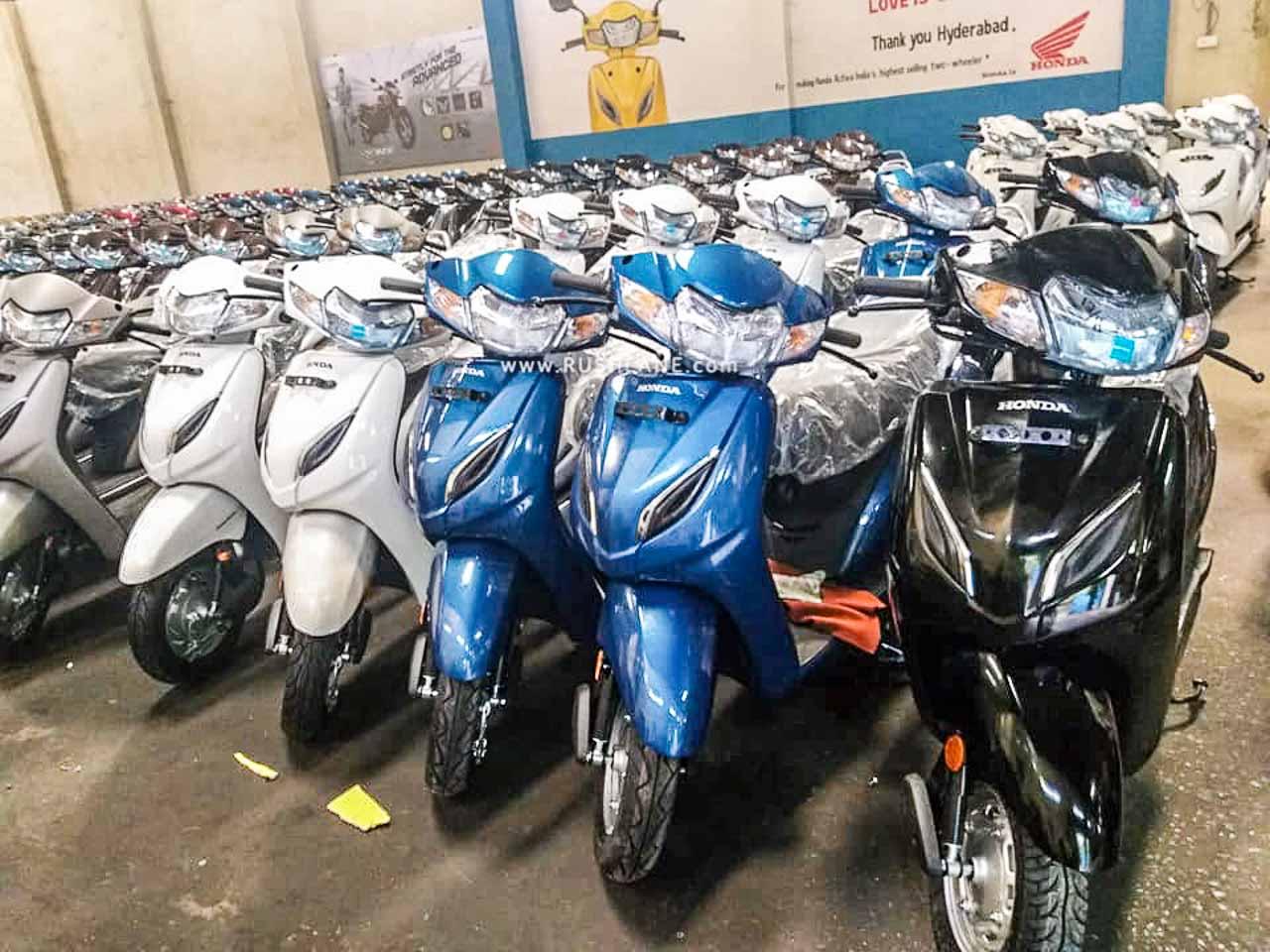 Honda Activa sales declined