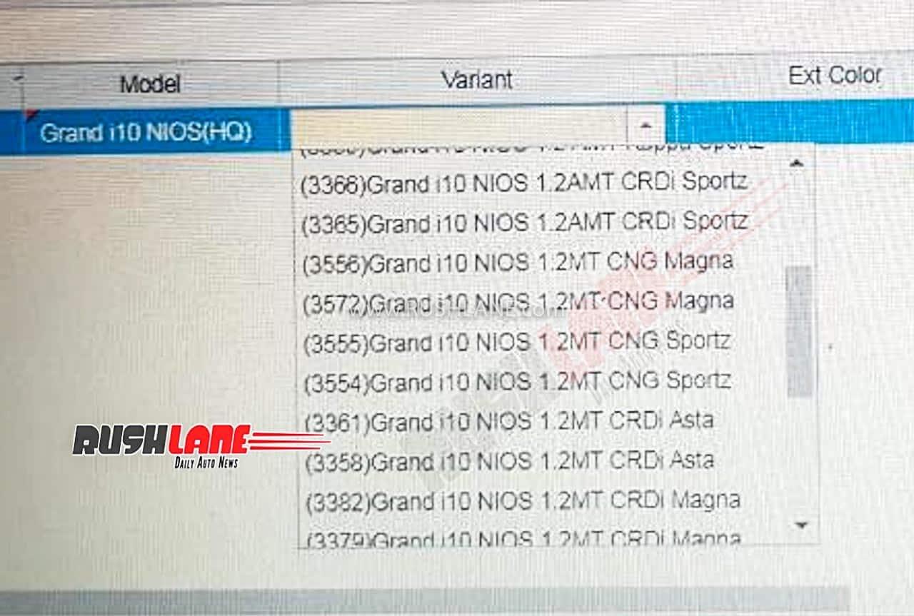 Hyundai Grand i10 NIOS CNG launch bookings