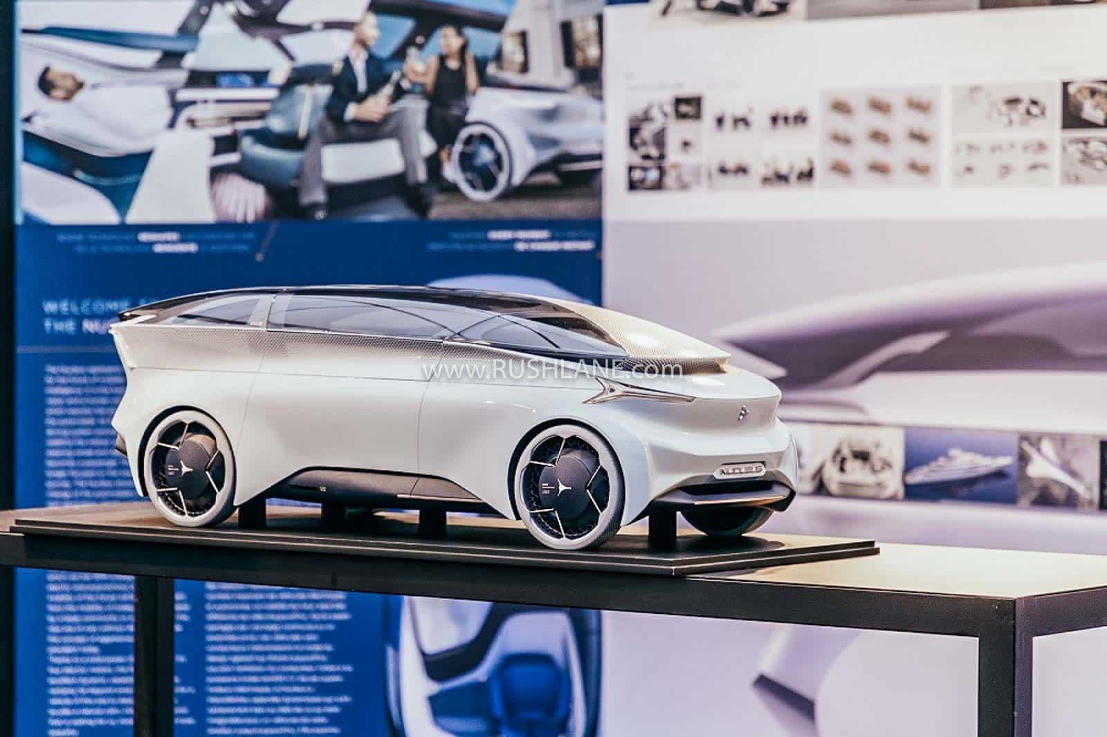 ICONA Nucleus electric car