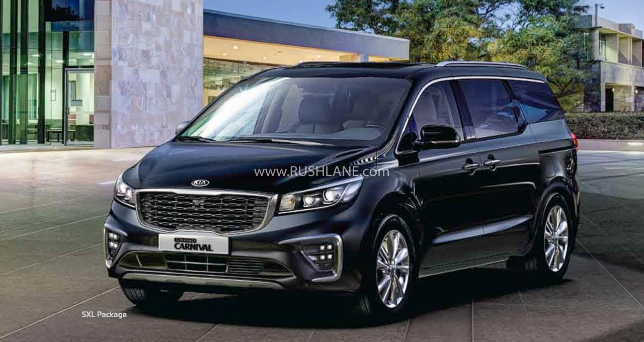 Kia Carnival top features
