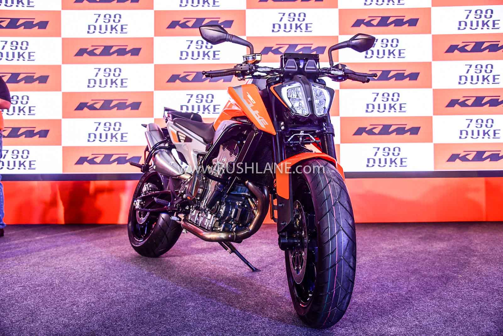 KTM 790 Duke launch image