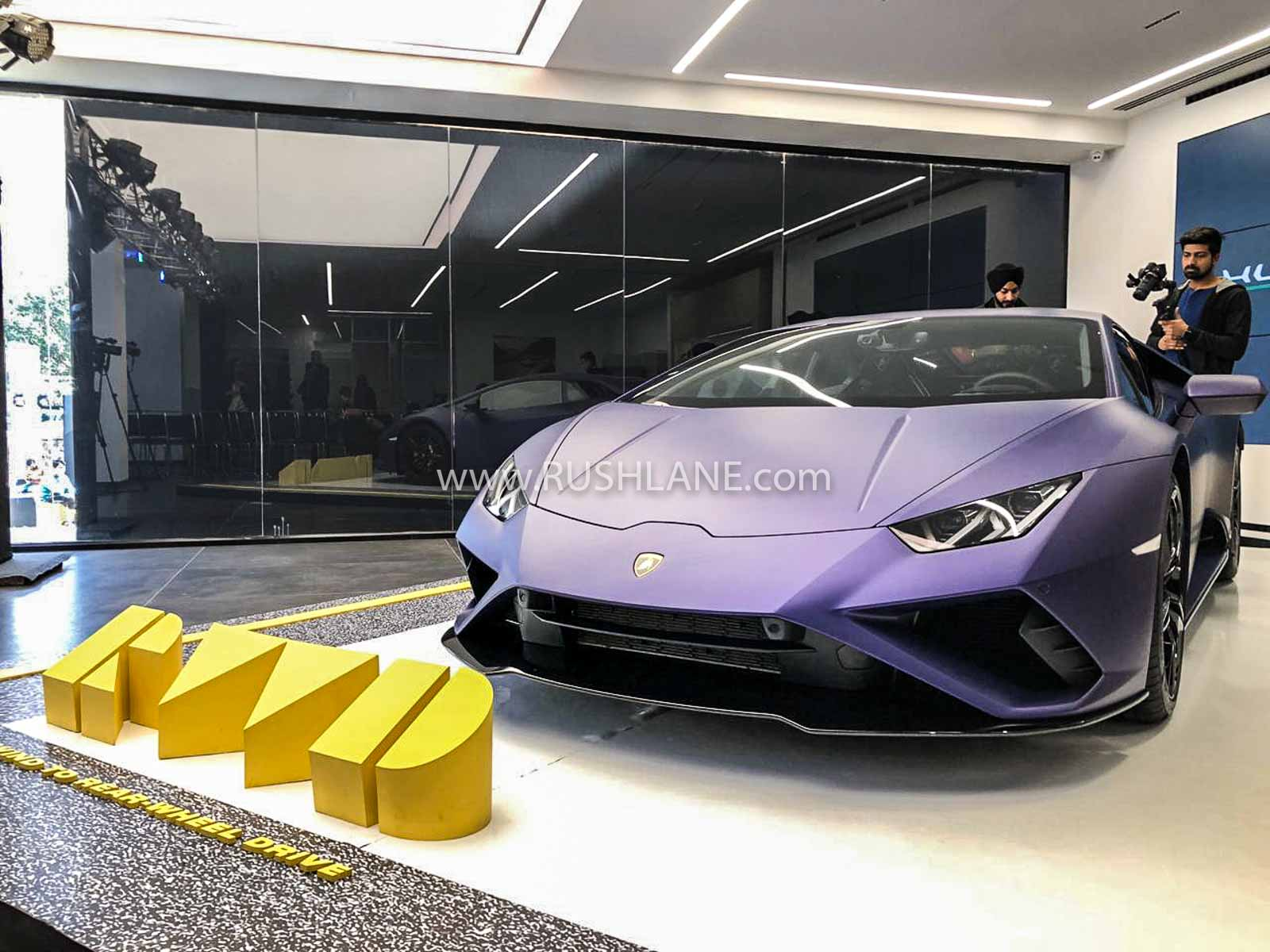 Lamborghini Huracan RWD launch