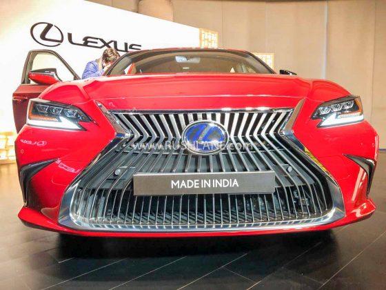 Lexus ES300h India launch