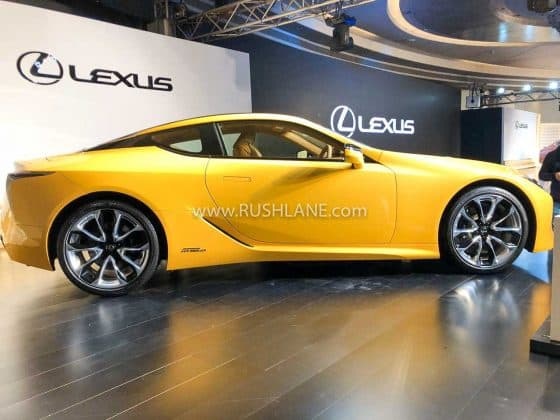 Lexus LC500h electric hybrid launched in India