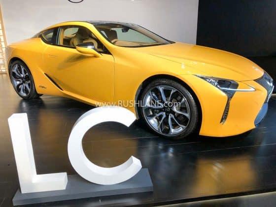 lexus lc 500h bs6