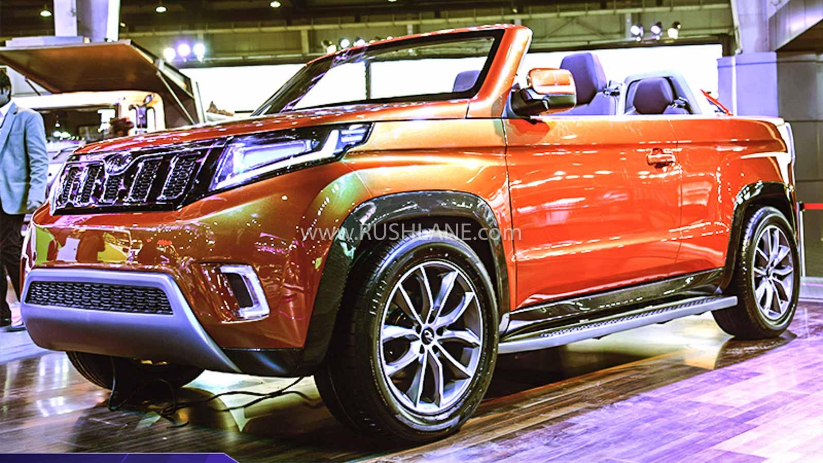 Mahindra Stinger Auto Expo 2020