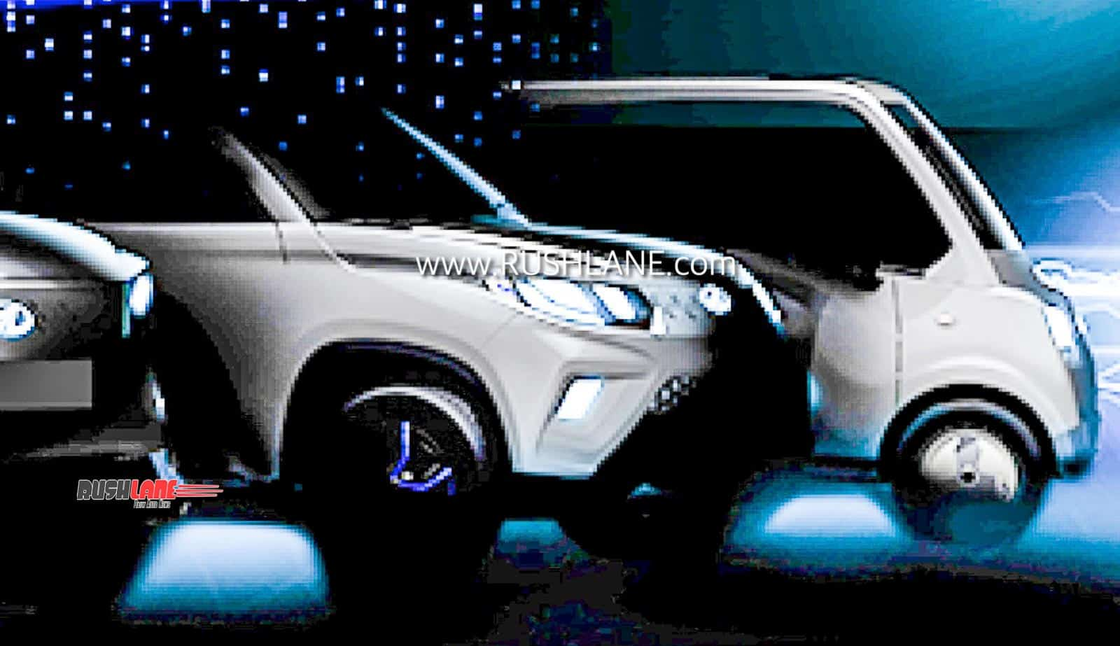 Mahindra eKUV100 and Atom Electric Concept