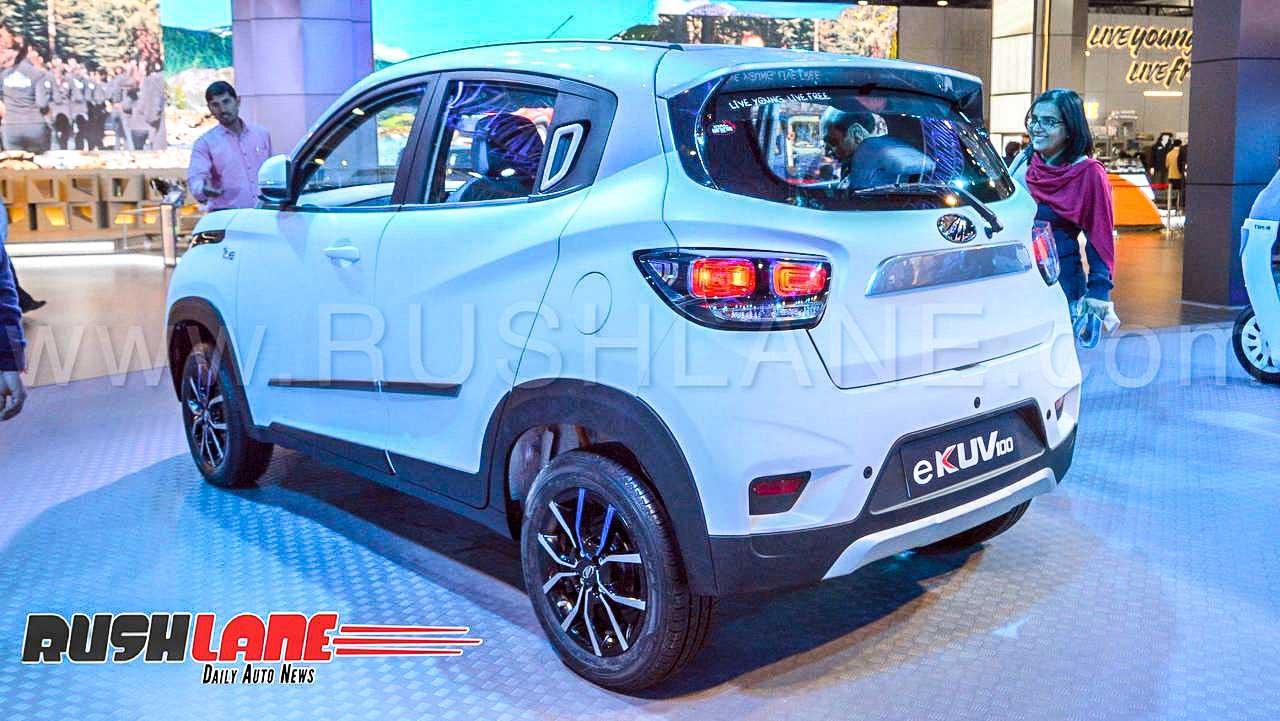 2020 Mahindra KUV100 electric price