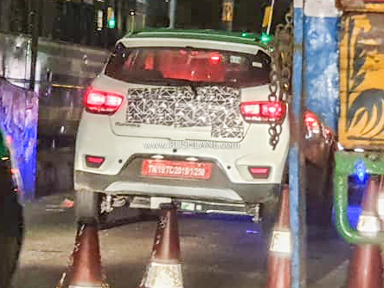 Mahindra eKUV100 electric SUV