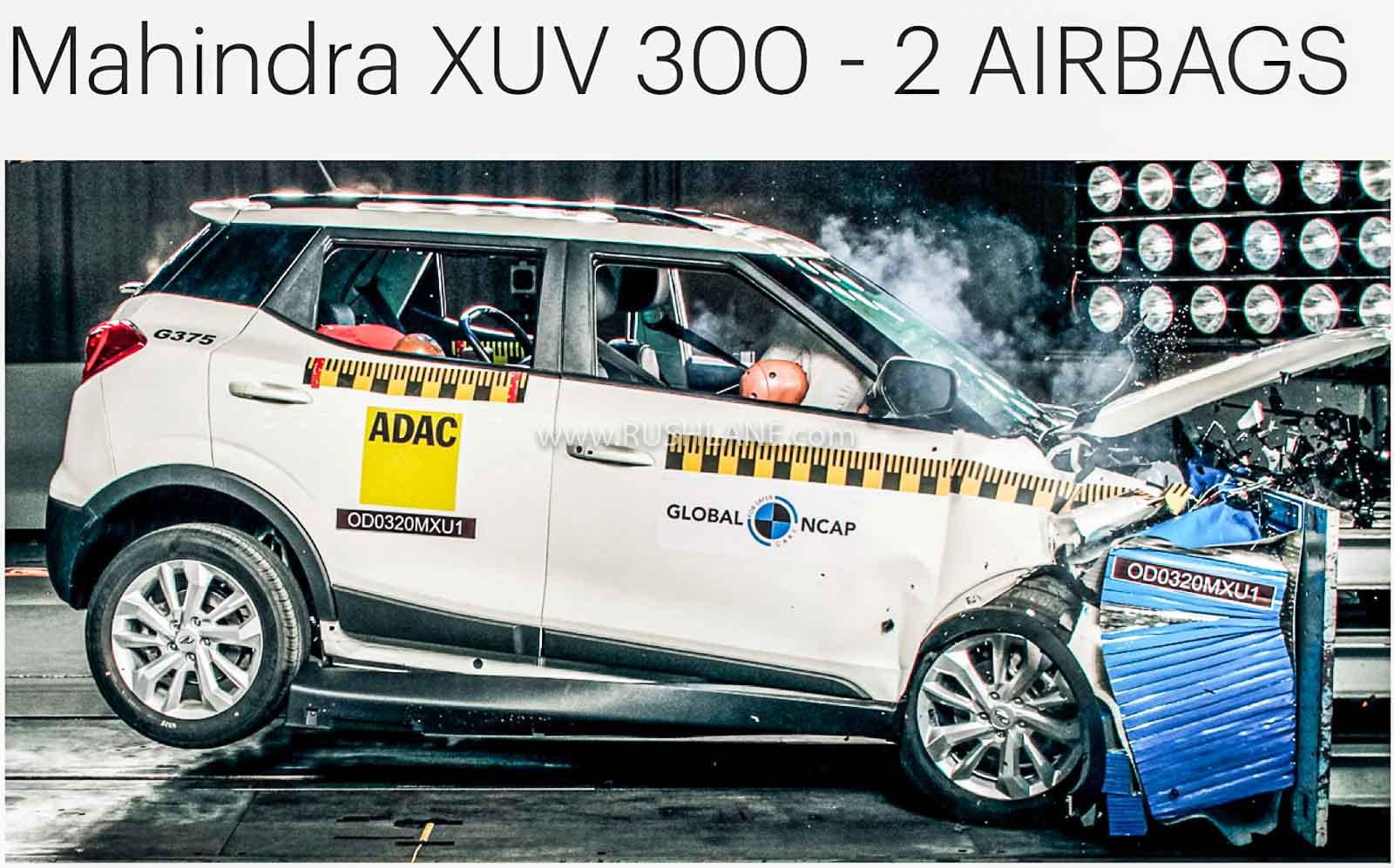 mahindra xuv300 safety rating