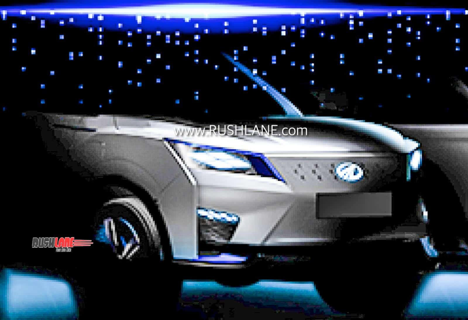 Mahindra XUV300 Electric Concept