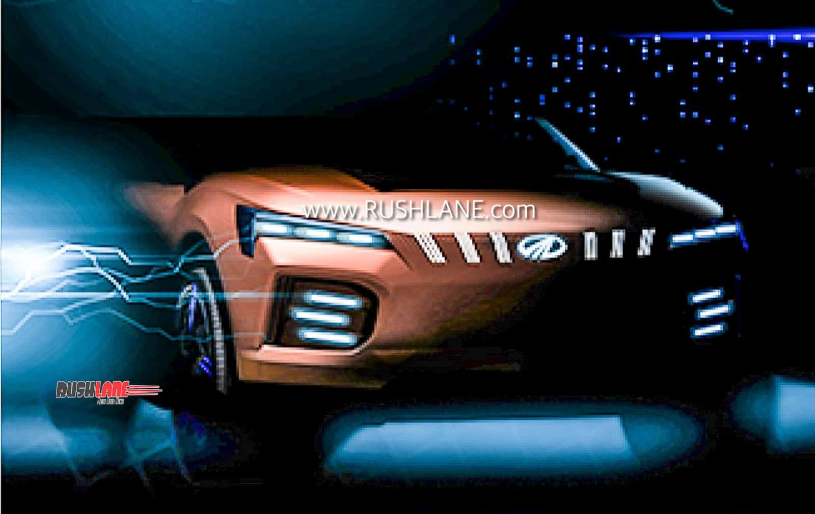 Mahindra XUV500 Electric Concept