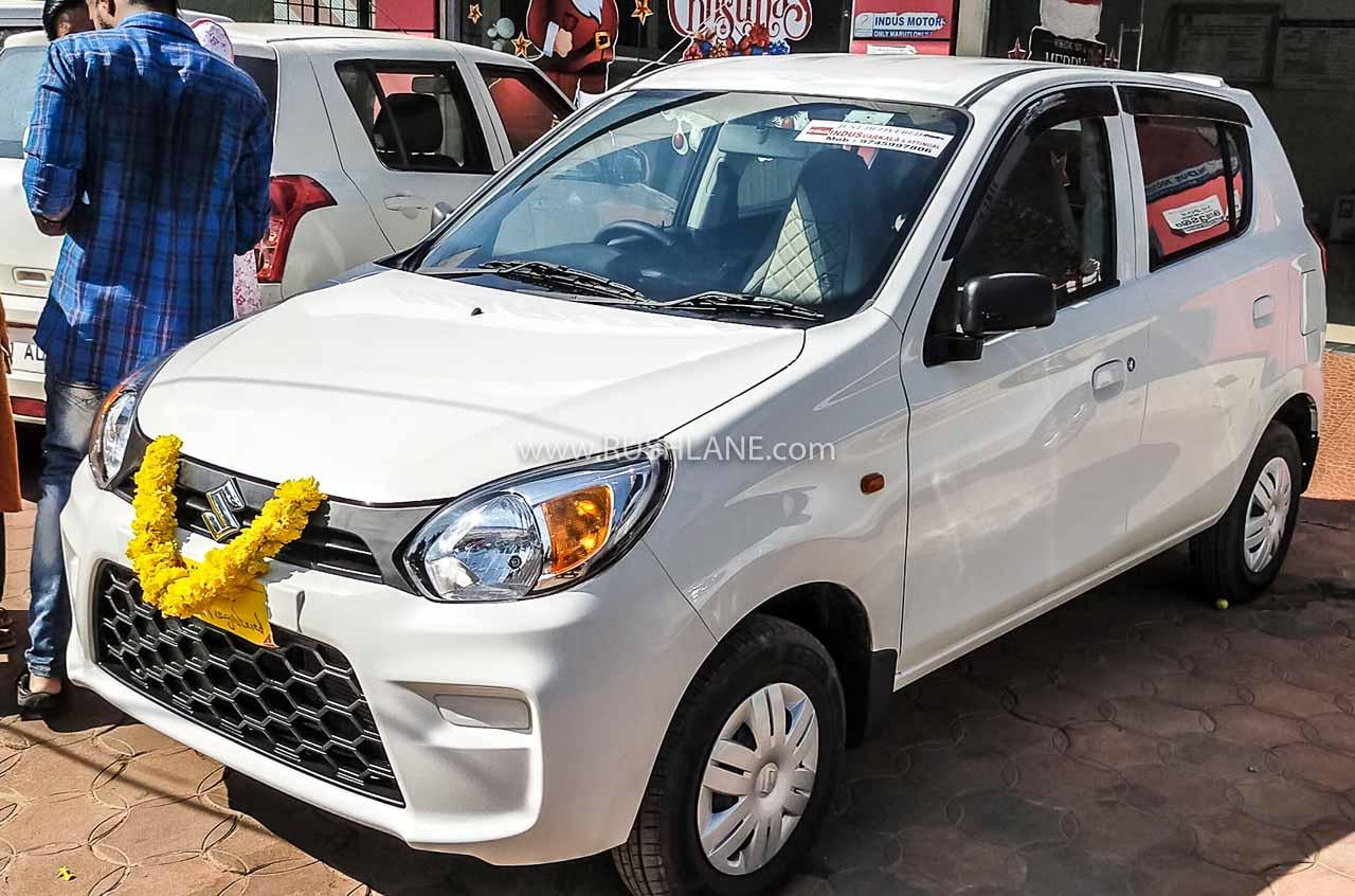 Maruti Alto sales India