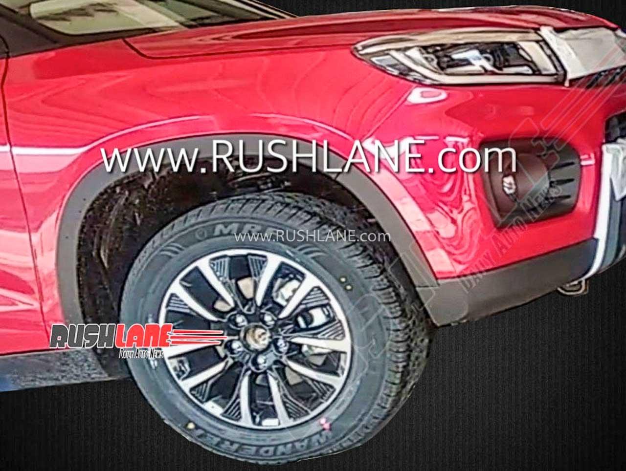 Maruti Brezza facelift alloys