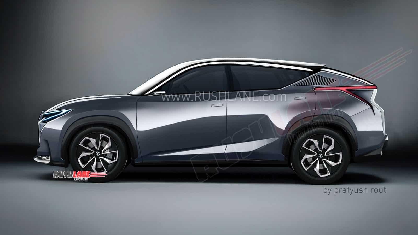 Maruti Futuro-e coupe SUV