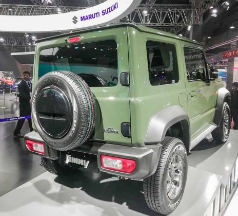 Maruti Suzuki Jimny Sierra at 2020 Auto Expo