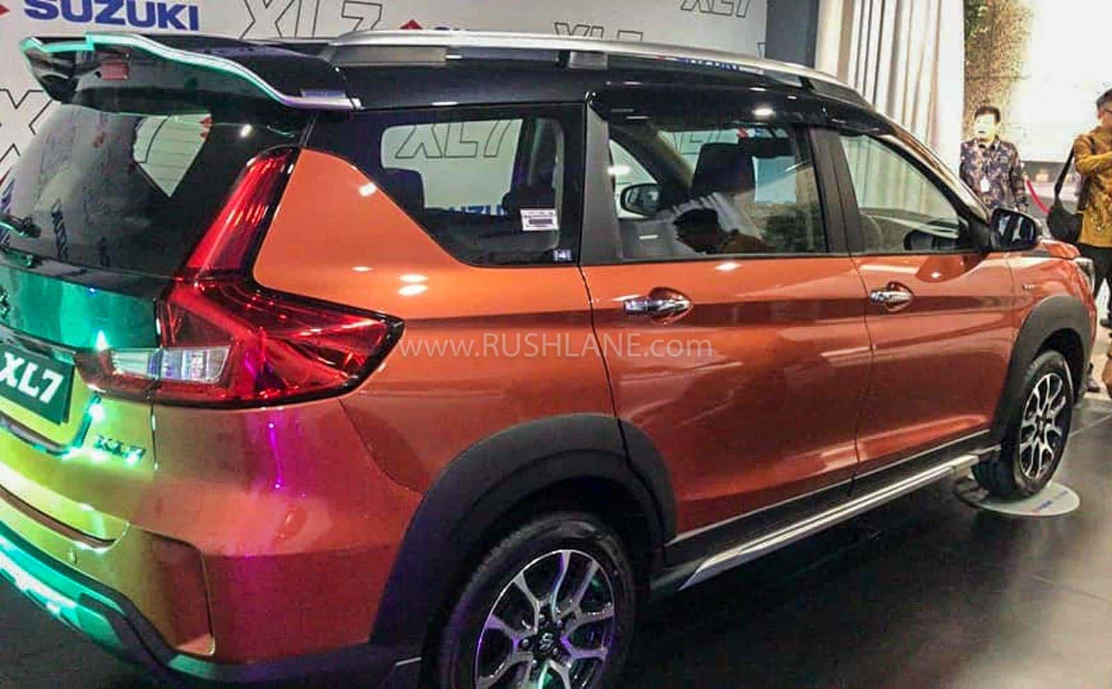 maruti ertiga based xl7 gets dual tone colour new alloys newskube maruti ertiga based xl7 gets dual tone