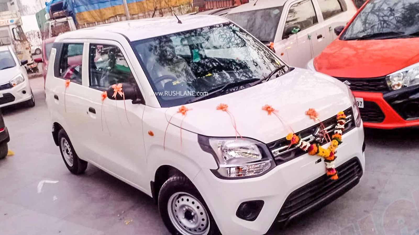 Maruti WagonR sales