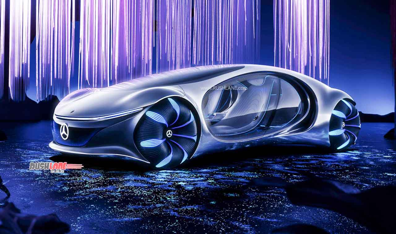 Mercedes AVTR autonomous concept car is inspired by Avatar ...