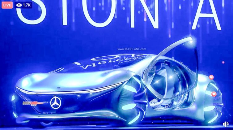 Mercedes AVTR concept inspired by AVATAR movies