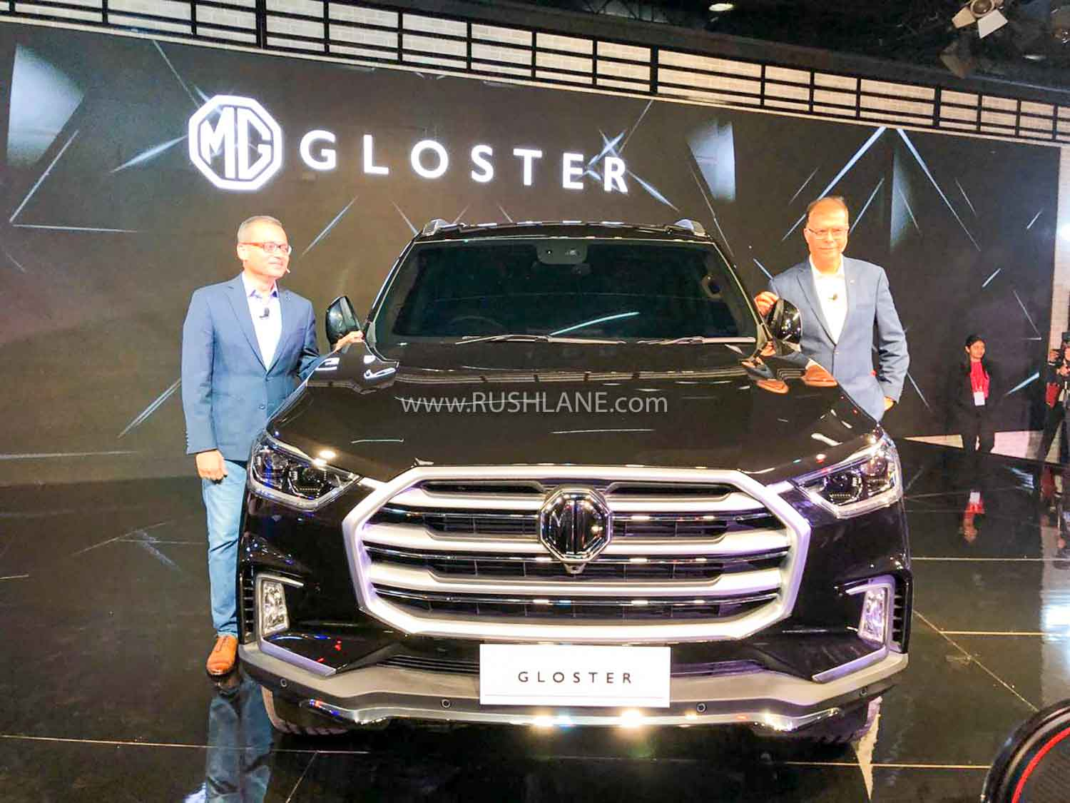 MG Gloster SUV at 2020 Auto Expo