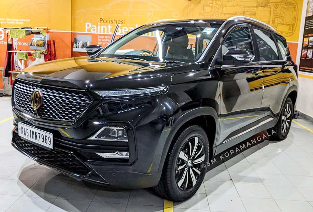 MG Hector Auto Expo