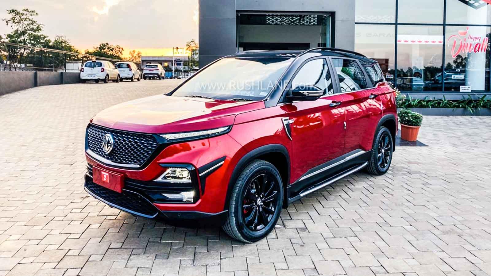 MG Hector sales Dec 2019