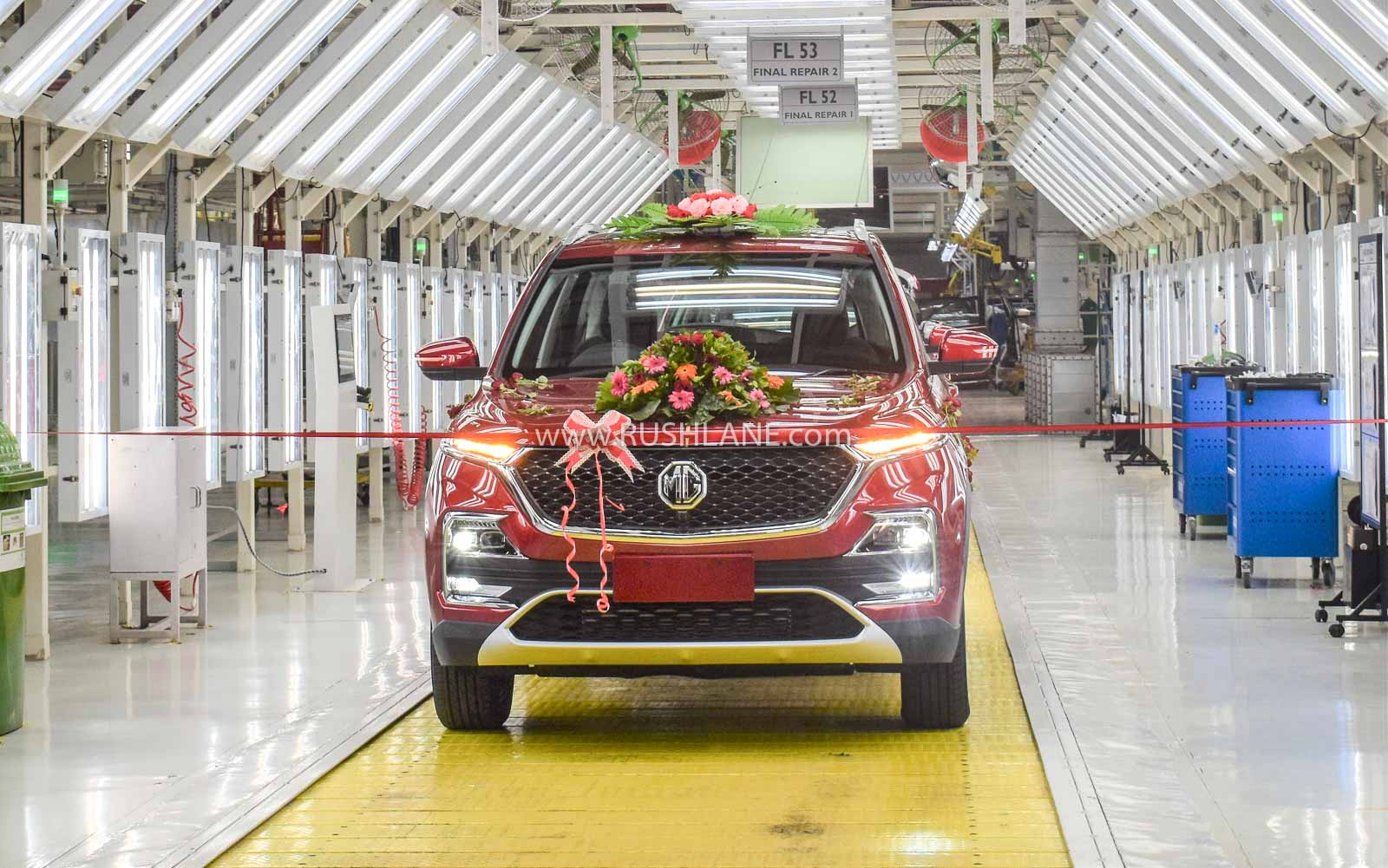 MG Hector production increase