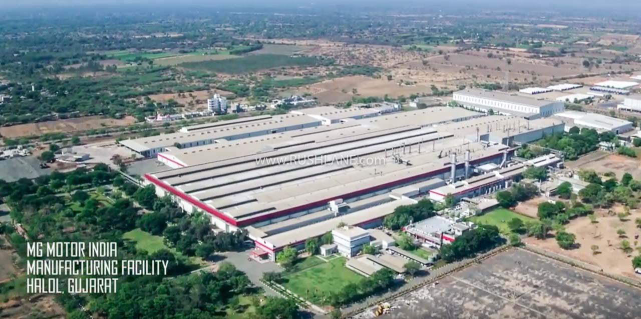 MG India car plant