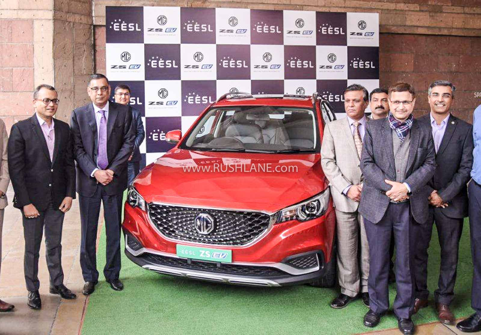 MG ZS electric SUV delivery starts