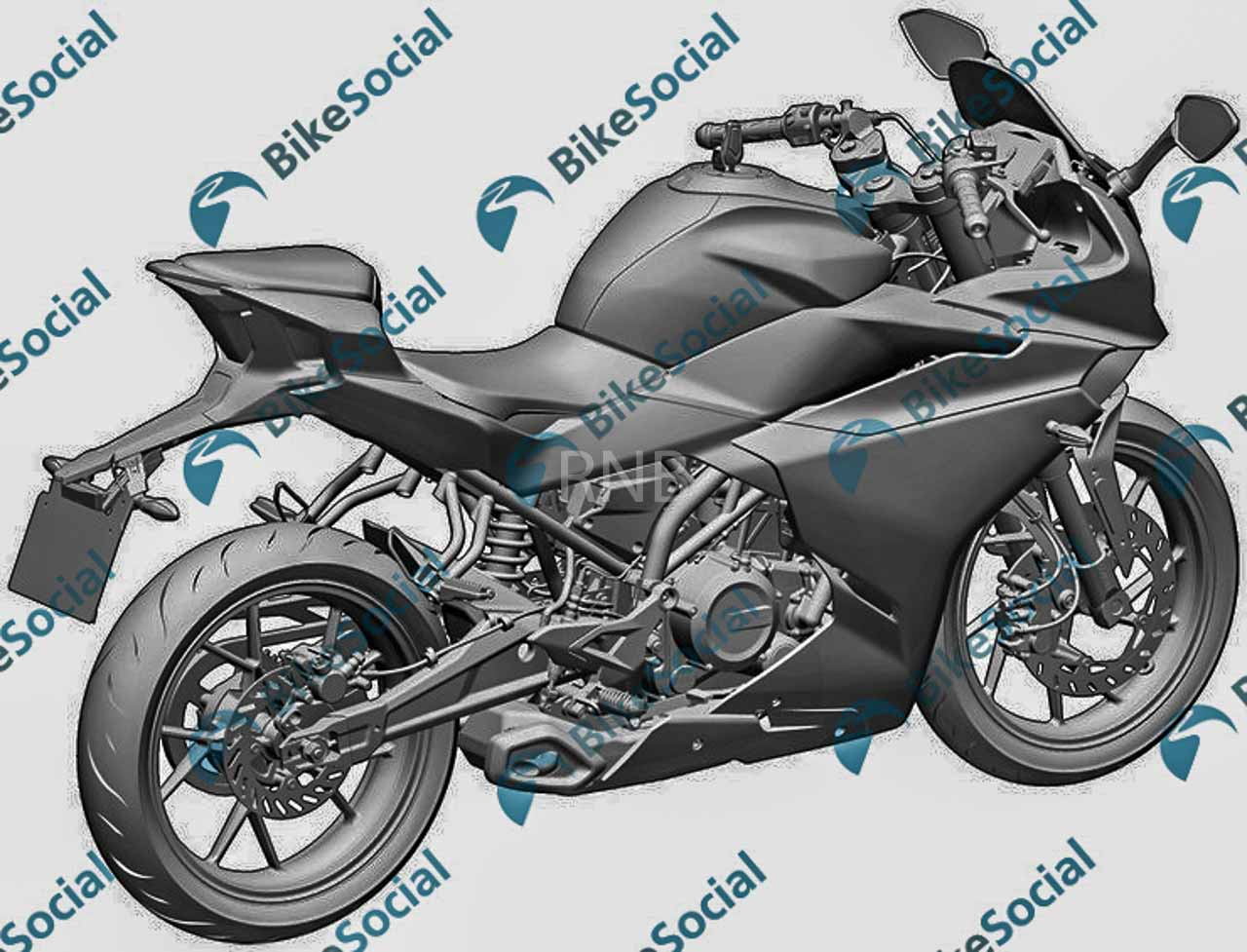 CF Moto 300SR fully faired motorcycle