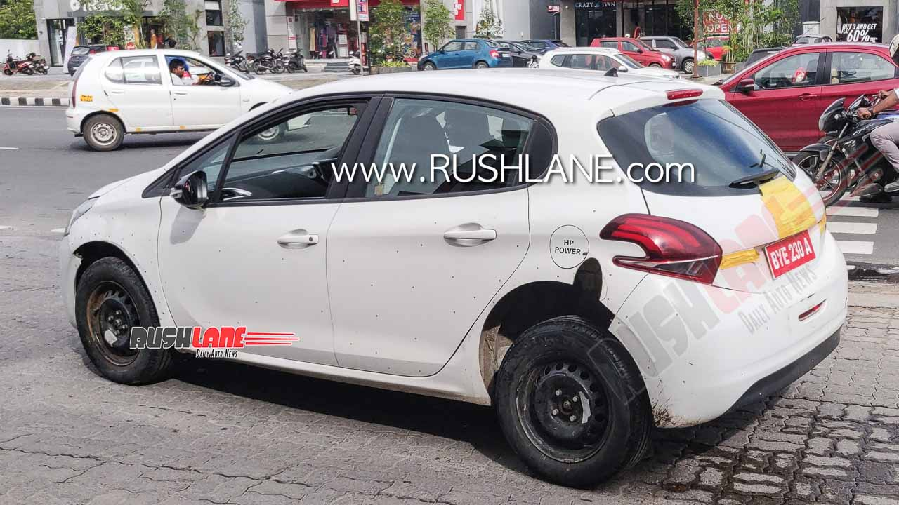 "2021 - [Citroën] ""C3 low-cost"" [SC21] Peugeot-208-citroen-spied-electric-india-launch-3"