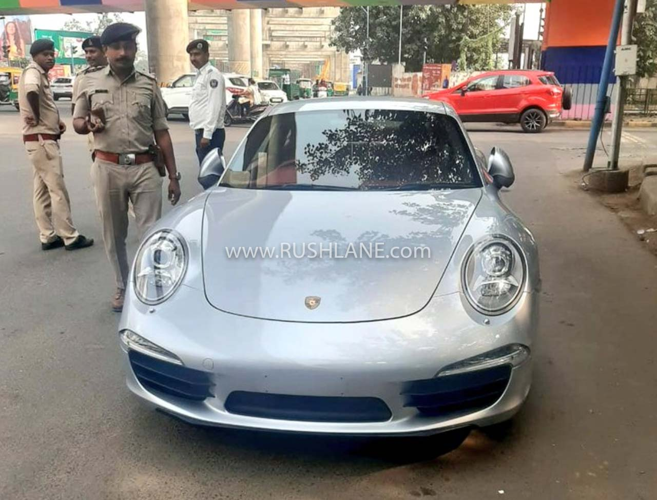 Porsche owner fined in Gujarat
