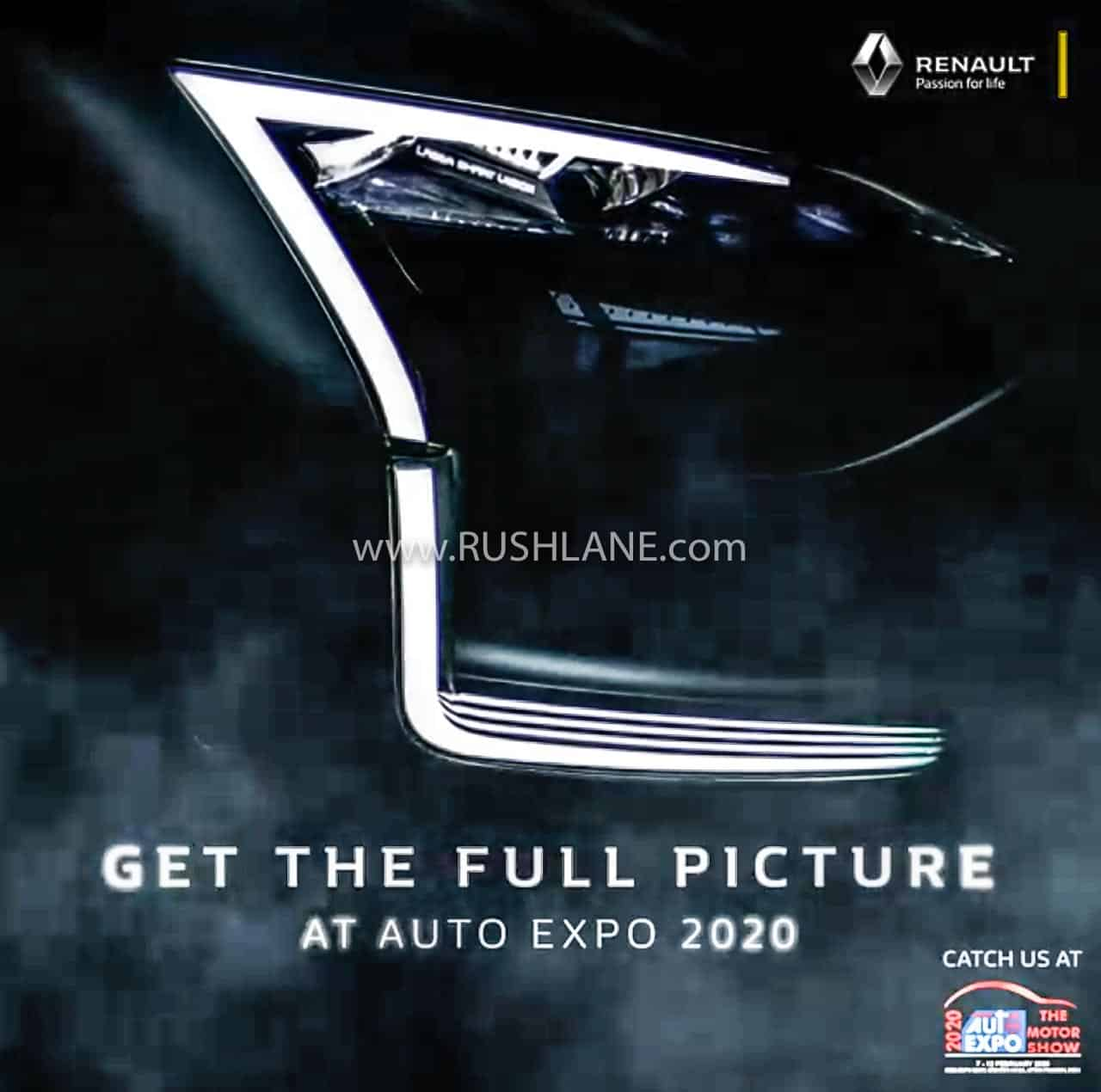 Renault HBC small SUV teaser