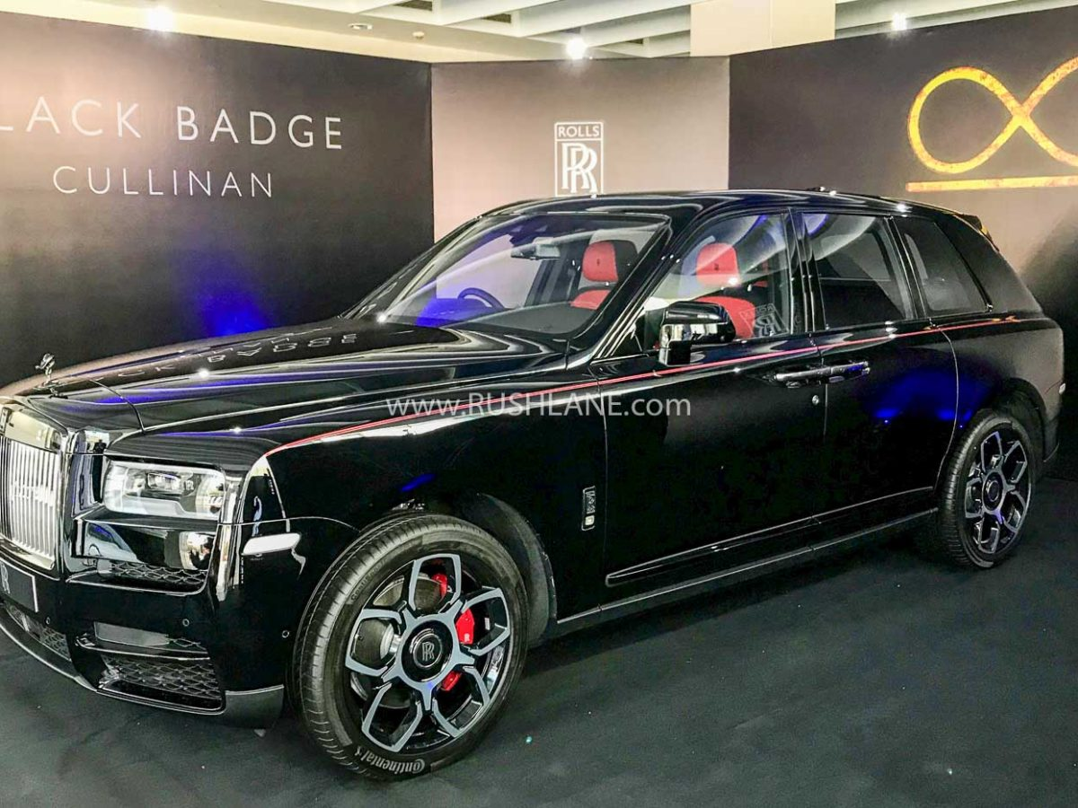 Rolls Royce Cullinan Black Badge India Launch Price Rs 8 2 Crore