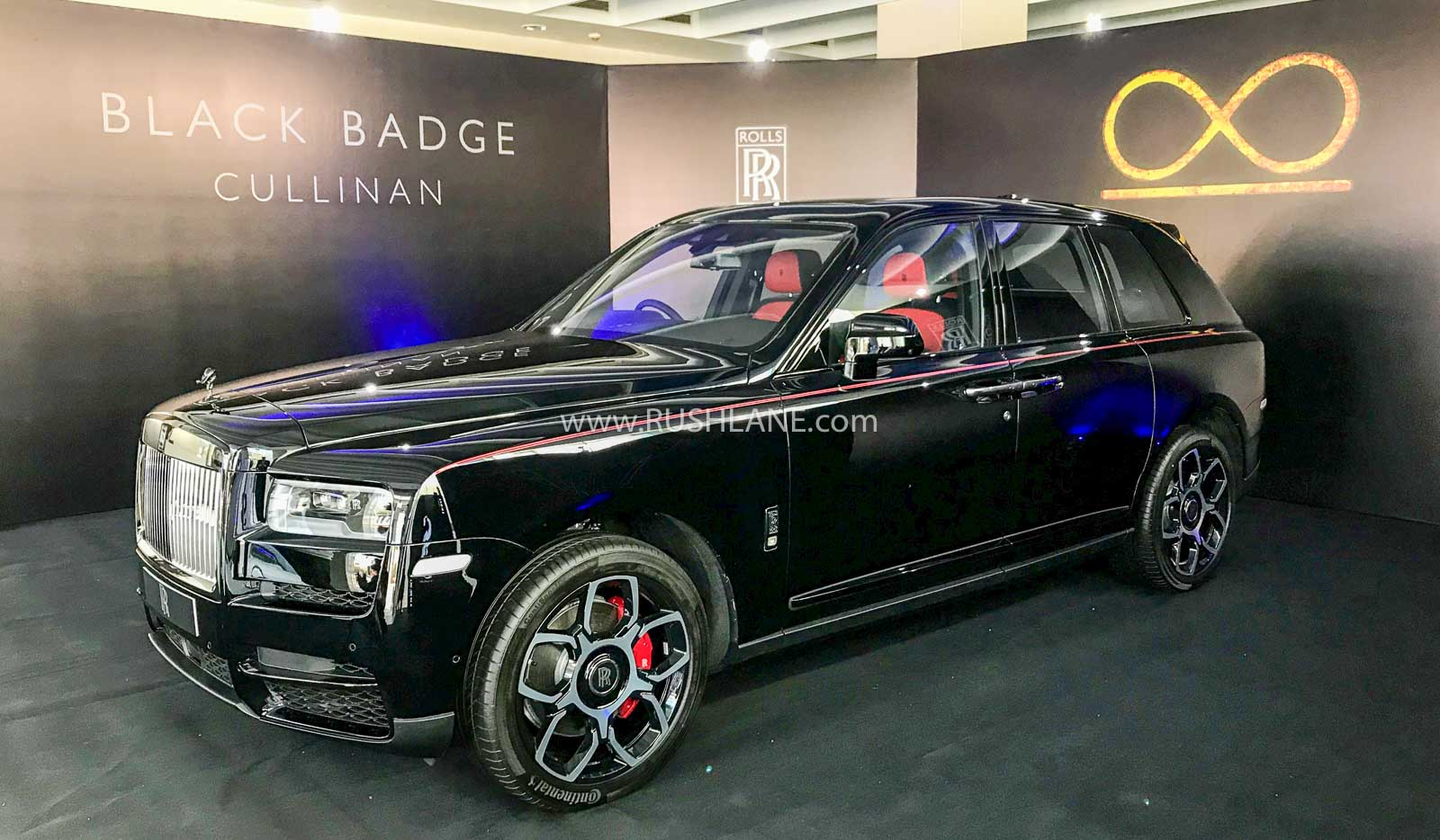 rolls royce cullinan black badge launched