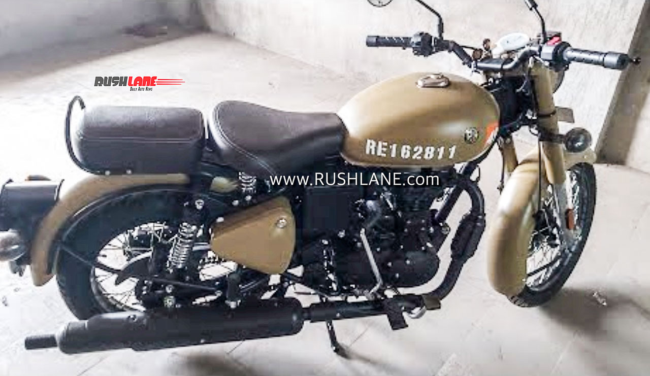 Royal Enfield Classic 350 BS6 Signals