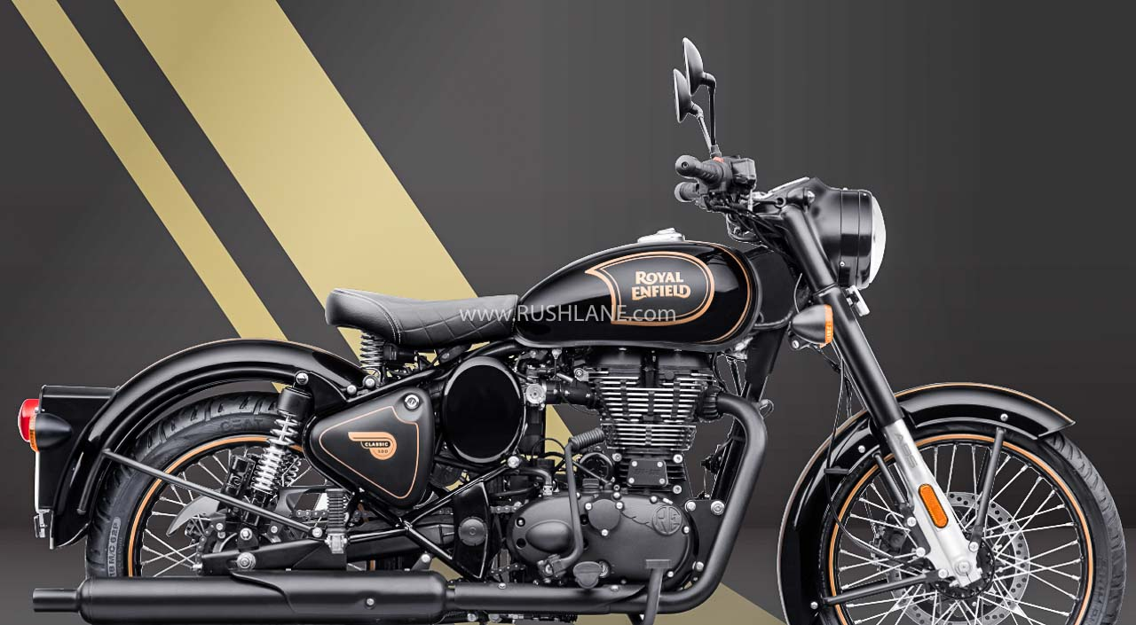 Royal Enfield Classic 500 Tribute Black Marks The End Of 500cc Res