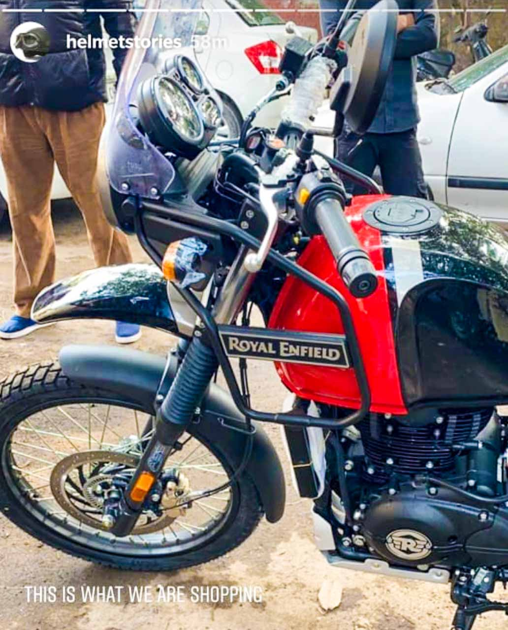 Royal Enfield Himalayan BS6 spied