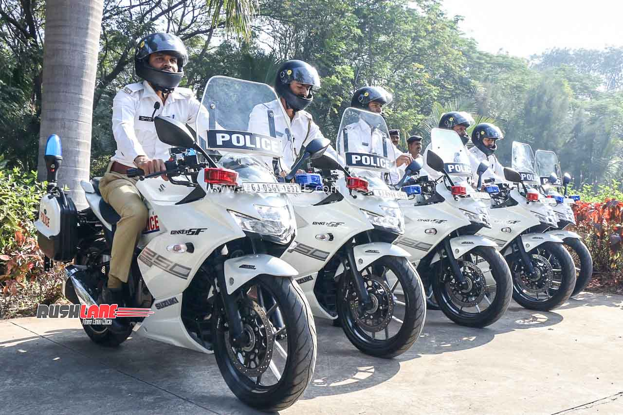 Suzuki Gixxer 250 SF Surat Traffic Police