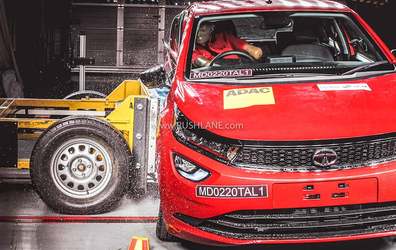 Tata Altroz crash test safety