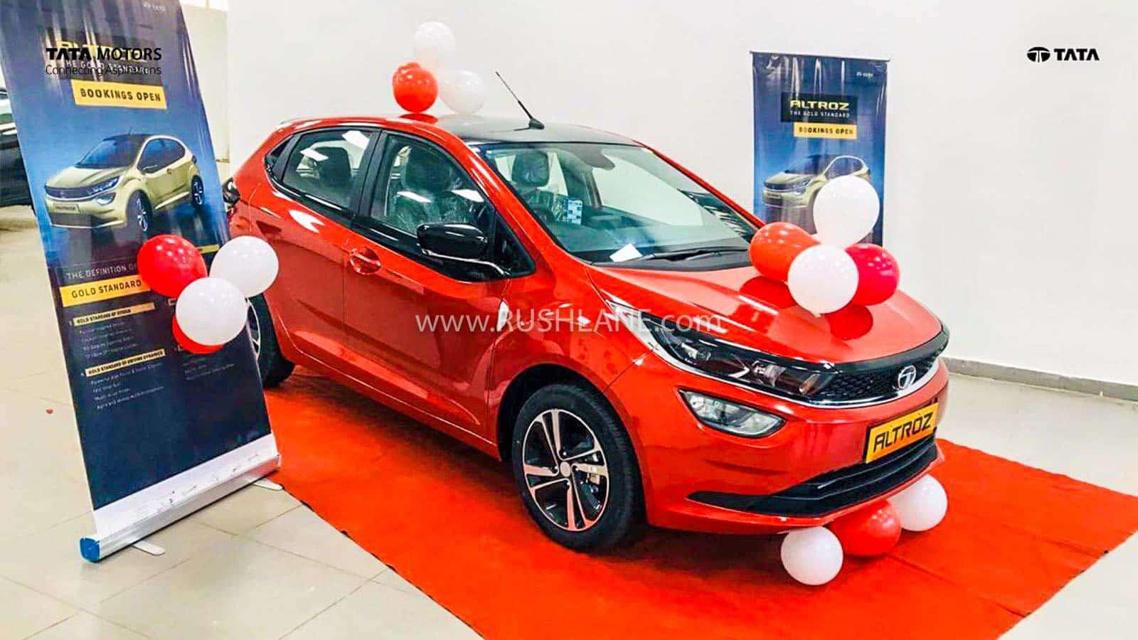 Tata Altroz delivery starts