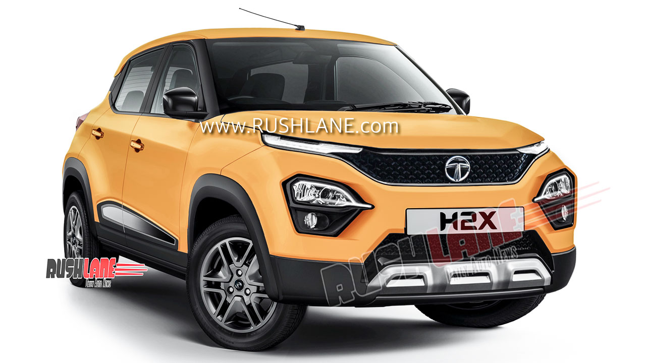 Tata H2X small SUV launch