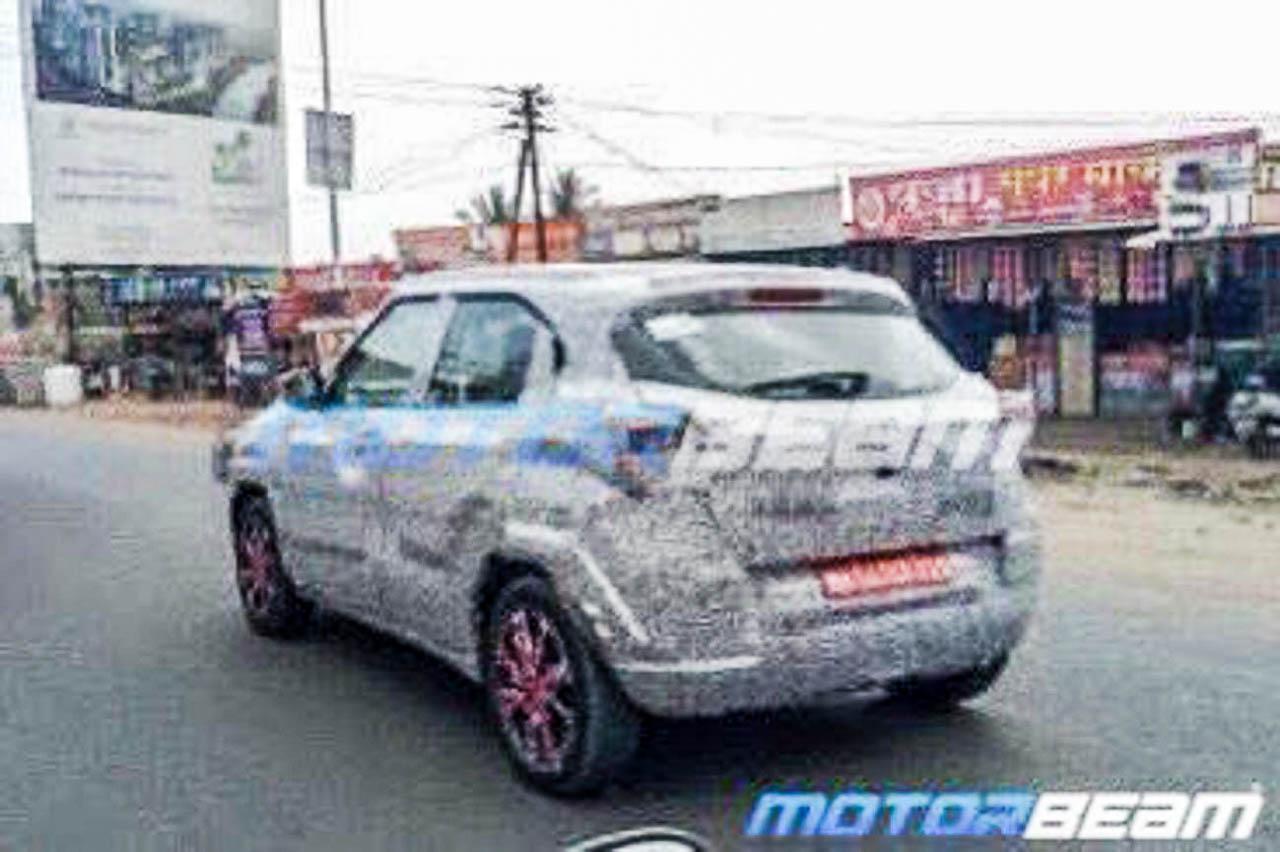 Tata H2X small SUV
