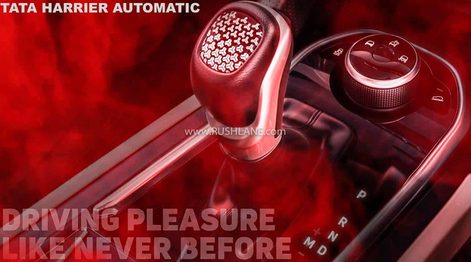 Tata Harrier automatic drive modes