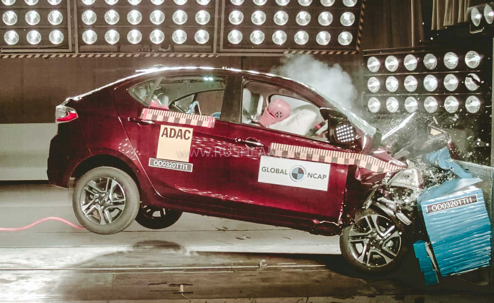 Tata Tigor, Nexon crash test