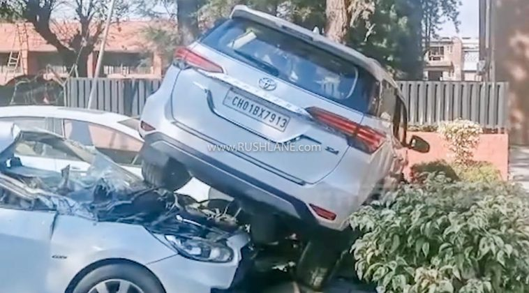Toyota Fortuner takes flight